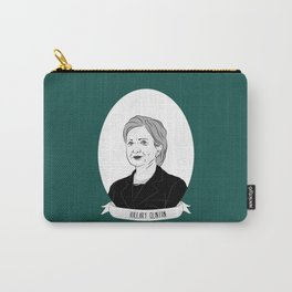 Hillary Clinton Illustrated Portrait Carry-All Pouch
