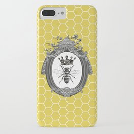 Queen Bee | Vintage Bee with Crown | Honeycomb | iPhone Case