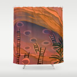 Ancestral Memories, Caves Shower Curtain