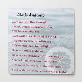 Alexis Andante Metal Print