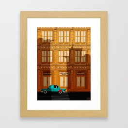 Hey Superhero!! Framed Art Print