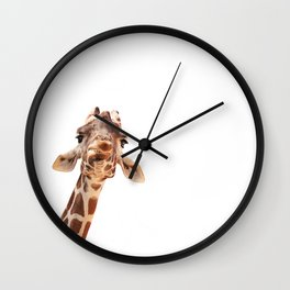 here's looking at you, kid Wall Clock