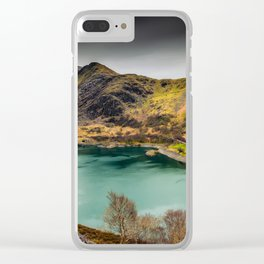Llyn Peris Snowdonia Clear iPhone Case
