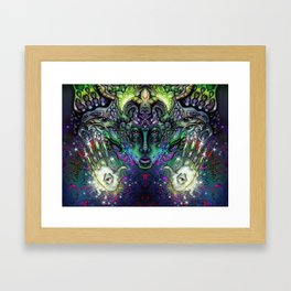 Spirit of Psytrance  Framed Art Print