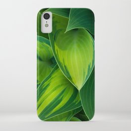 Hosta Camouflage iPhone Case