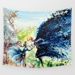 """In the air"" Wall Tapestry"
