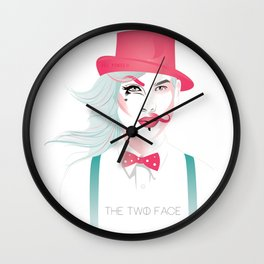 The Two Face Wall Clock