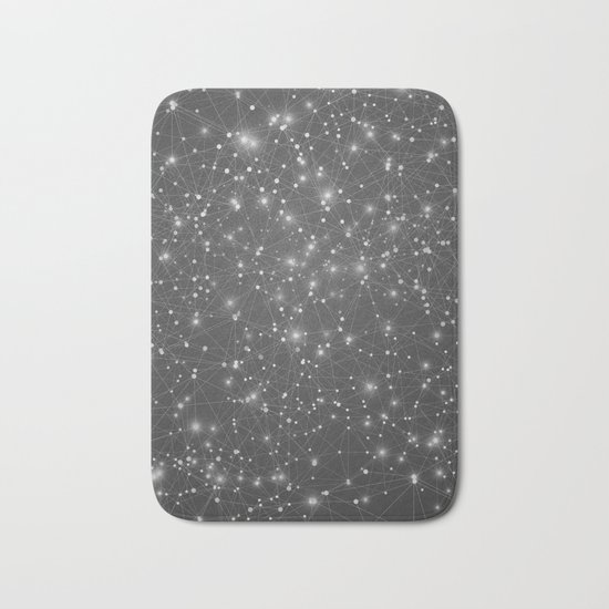 From Point A to Point B Bath Mat