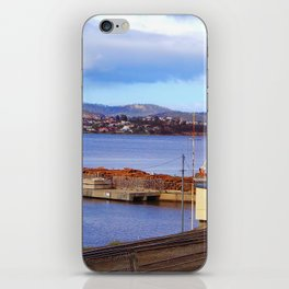 Crossed Rail Hobart Tasmania Australia iPhone Skin