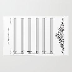 The Sound of Silence (Mono) Rug