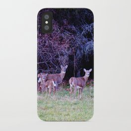 The Dear Deer Family iPhone Case