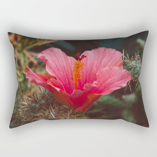 California Bloom III Rectangular Pillow