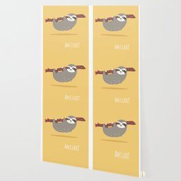 Sloth card - Am I late? Wallpaper