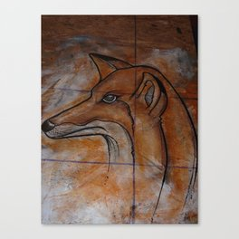 Fox. Canvas Print