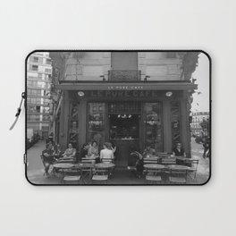 French Cafe - Paris, France Laptop Sleeve