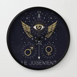 Le Jugement or The Judgement Wall Clock