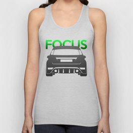 Ford Focus RS Unisex Tank Top