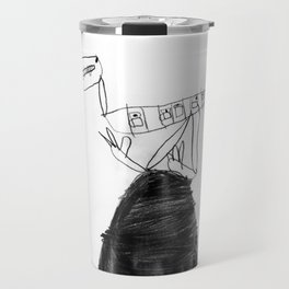 Coffee-saurus Travel Mug