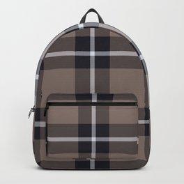 big dark weave monochrome Backpack