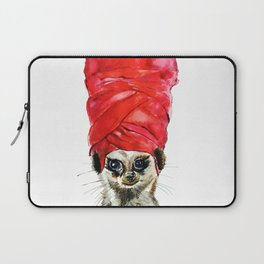 Red Turban Laptop Sleeve