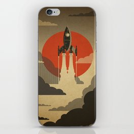 The Voyage (Grey) iPhone Skin