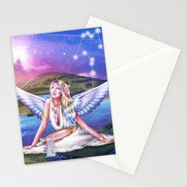 Aquarius OC - 12 Zodiac Ladies Stationery Cards