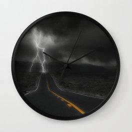 Highway Strike Wall Clock