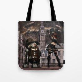 Steampunk Sci-Fi 3 Tote Bag