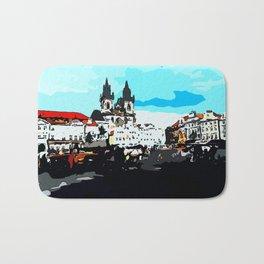 Prague Praha Bath Mat