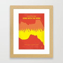 No299 My With the Wind mmp Framed Art Print