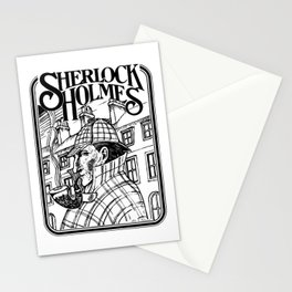 Sherlock Holmes /The Consulting Detective by Peter Melonas Stationery Cards