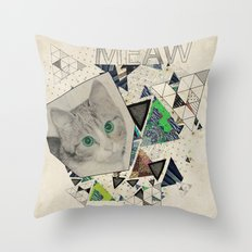 ░ MEAW ░ Throw Pillow