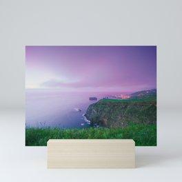 Island landscape Mini Art Print