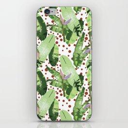 Beach Leaf iPhone Skin