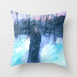 Peace in the Storm Throw Pillow