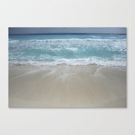 Carribean sea 5 Canvas Print