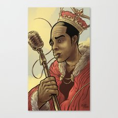 Proclaimed King of Rap Canvas Print