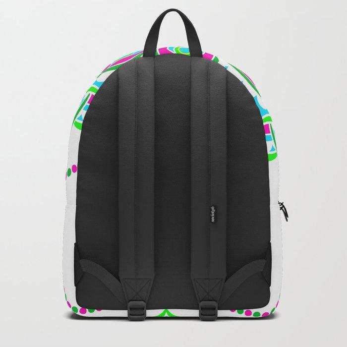 Spring Mandala | Flower Mandhala Backpack