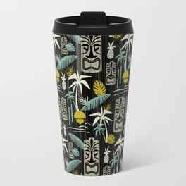 Island Tiki - Black Travel Mug