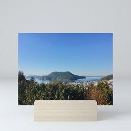 Burrows Island View from Skyline Mini Art Print
