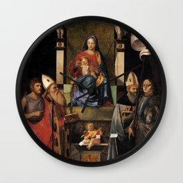 Giovanni Agostino da Lodi - Boatmen Altarpiece Wall Clock