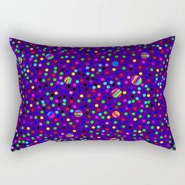 Colorful Rain 14 Rectangular Pillow