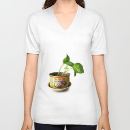 luncheon meat plant Unisex V-Neck