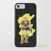 rwby iPhone & iPod Cases featuring RWBY Yang by IslandMyths