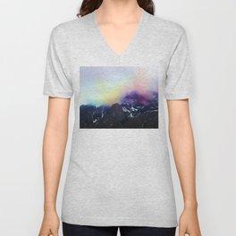 Mountain of Color Fog Unisex V-Neck
