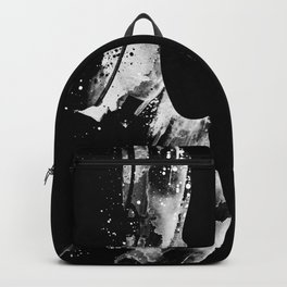 The white violin Backpack