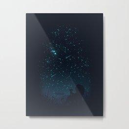 Under The Stars Metal Print