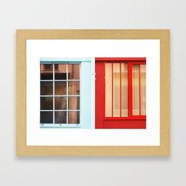 122. Parisian Glass Wall, Paris Framed Art Print
