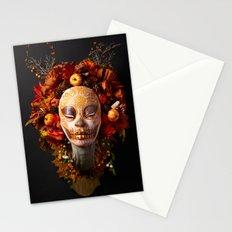 Pumpkin Harvest Muertita Stationery Cards