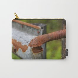 Rusted Fencepost Carry-All Pouch